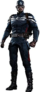 Movie Masterpiece Captain America / Winter Soldier Captain America (stealth suit version) 1/6 scale plastic-painted action figure