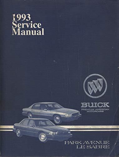 1993 Buick Park Avenue and LeSabre Service Manual