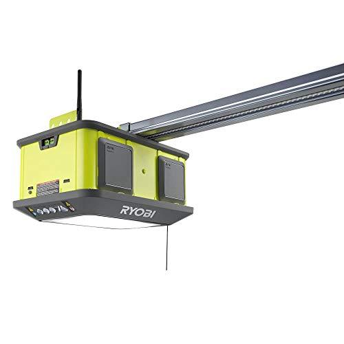 RYOBI Quiet Compact 1-1/4 HP Belt Garage Door Opener