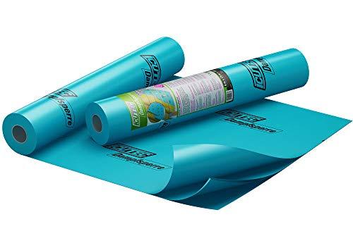 ICUTEC 033 5030 2 x 5 m Dampfsperre, blau