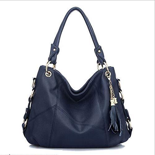 Rongjuyi dames lederen schoudertas grote designer dames tas emmer portemonnee