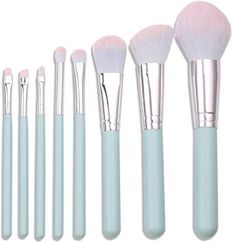 HZS Pinceau de Maquillage Professionnel Set Pinceau Fond de Teint Avancée Synthèse 8Pcs