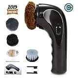 Shoe Buffer Kit Electric Shoe Polisher Brush Shoe Shiner Dust Cleaner Portable...