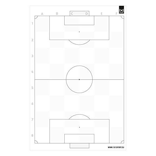 1x1SPORT Taktikfolie #Fussball Mini (Ganzes Spielfeld)