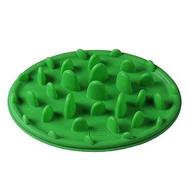 VH indefinido - Perro/Cachorro de Alimentos Lentos de Alimentación Lenta Plato de Agua Mascotas Cuenco Anti Gup/Chokebloat