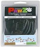 Kruuse Pet Pawz Botines P/Perro L 10,2Cm Negro 12U 100 G