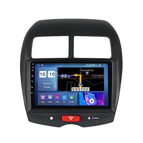 ADMLZQQ para Mitsubishi ASX 2010-2016 Android 10.0 Estéreo para Automóvil Car Radio Navegación GPS, 9 Pulgadas Pantalla Táctil Bluetooth Carplay FM Am RDS DSP SWC Cámara Trasera,M200s 8core 2+32g