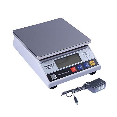 CHICTI Cocina Cocinando Balanzas electrónicas, LCD Acero Inoxidable Balanza de Plataforma Comida Pequeño (Size : 5kg/0.1g)