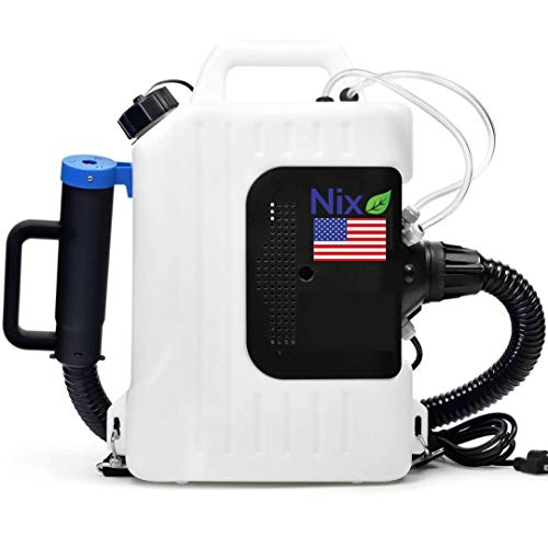 The Nix Co. USA Portable 10L Electric ULV Fogger Machine-110V Backpack Sprayer Fogger Machine Disinfectant,Atomizer, Bug, Flea, Insect, Mosquito Fogger Indoor Outdoor Sprayer USA Company