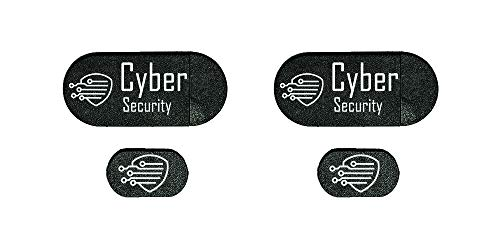 Webcam Cover Webcam Cover Slide for Laptop/Phone Protect Your Privacy and Security -4 pcs Family Pack- 2 for Laptop 2 for Phone by Cyber Security