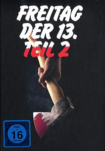 Freitag, der 13. - Teil 2 - Uncut/Mediabook - Limitierte Edition auf 666 Stück [Blu-ray]