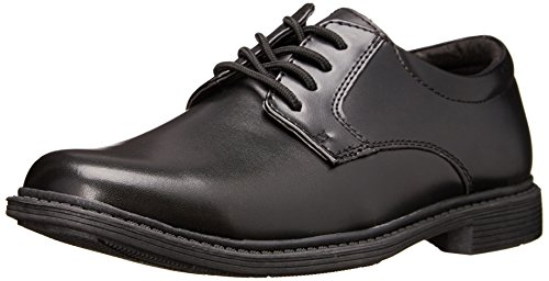 Stacy Adams Austin Plain Toe Uniform Dress/Casual Lace-up Uniform Oxford Shoe (Little Kid/Big Kid),Black,6 M US Big Kid