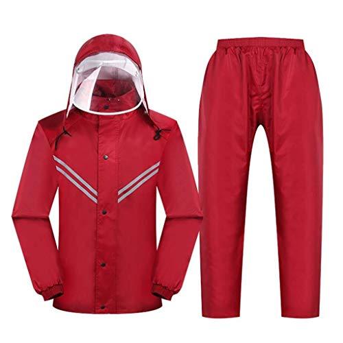 Preisvergleich Produktbild Regenmantel,  regt Hose,  im Freien wasserdichten und regendichte Anzug,  reflektierende Kleidung