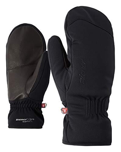 Ziener Damen Karinia As(r) Pr Mitten Lady Glove Ski-Handschuhe, black, 8 (L)