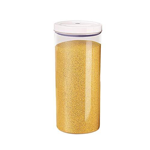 JIAYU Caja De Almacenamiento De Alimentos Caja De Conservación De Alimentos Sellada, Tanque De Almacenamiento De Plástico para El Hogar, Tanque De Almacenamiento De Granos De Especificación Múltiple