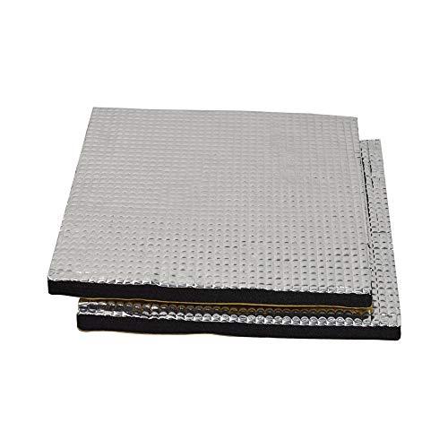 HWA KUNG 2 stücke Beheizte bettfolie Selbstklebende isolierung Baumwollmatte 220mmx220mm(8.66'x8.66')Wasserdichte Wärmeschutzmatte für 3D-Drucker-Wärmebettteile
