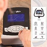 SportPlus Ergometer, ca. 9 kg Schwungmasse, Benutzergewicht bis 120 kg, geprüft nach EN ISO 20957-1, 957-5, mit optionaler Smartphone-Steuerung über Cardiofit App, SP-HT-9800-iE - 5