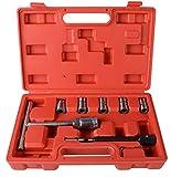 7 Piezas Set de escariador para asiento de inyector Set de cortador