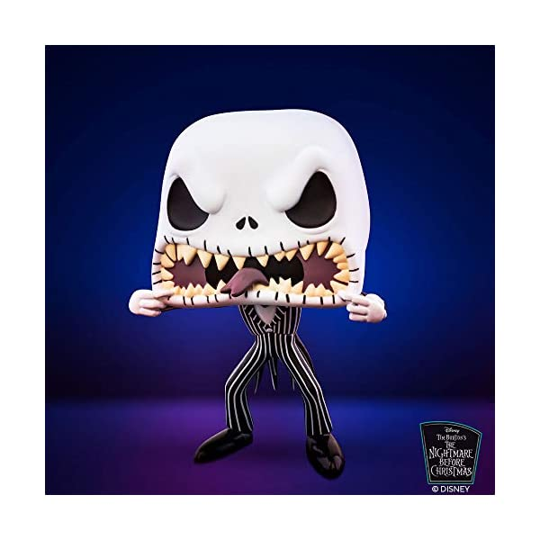 Funko- Pop Disney: The Nightmare Before Christmas-Jack (Scary Face) Figura Coleccionable, Multicolor (48182) 2