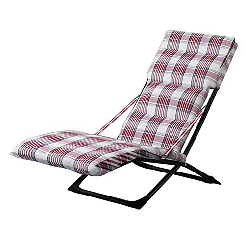 Liegestuhl, Klappstuhl   mit Fußstütze   mit stuhlkissen   Siesta Stuhl   tragbarer Gartenstuhl   Balkonstuhl   Strandkorb   einstellbar   Liege