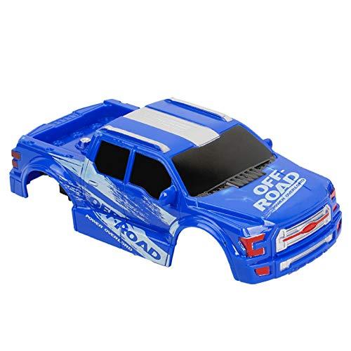 balnore Karosserie für Ferngesteuertes Auto, Ersatzteil für RC Monstertruck (Blau)