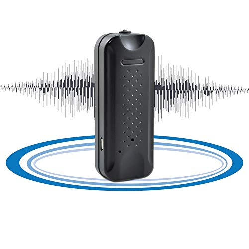 KingNeed Portable Strong Magnetic Digital Voice Recorder Voice Activated Recording Device with 135h Standby 8GB Memory Flashlight Function