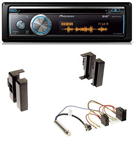 Pioneer DEH-X8700DAB MP3 DAB USB CD Bluetooth Autoradio für Audi A4 B5 bis 99 A6 C4 bis 97 A8 D2 bis 1999