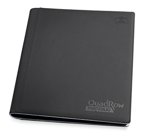 Ultimate Guard 12-Pocket quadrow xenoskin Portefeuille (Noir)