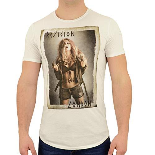Religion Clothing Get In Line - Camiseta para hombre Blanco S