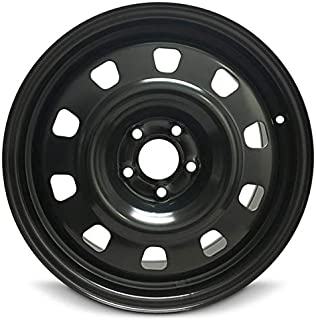 Road Ready Car Wheel For 2013-2016 Dodge Dart 17 Inch 5 Lug Steel Rim Fits R17 Tire - Exact OEM Replacement - Full-Size Spare