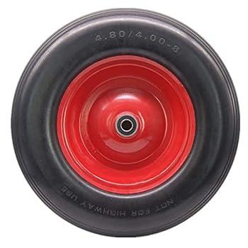 Best wheelbarrow wheel flat free Reviews