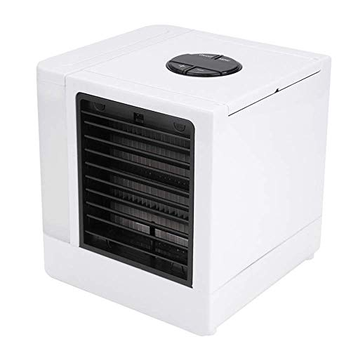 FENGLI Super Cooler Portable Air Conditioner with LED USB Mini Desktop Fan Air Conditioner, Easy To Install, Easy To Remove, Reusable Filter Paper