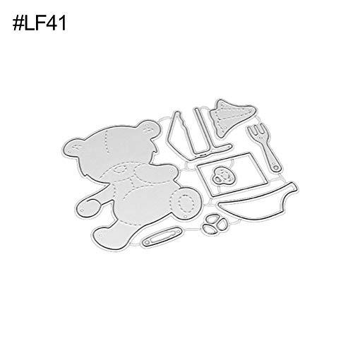 P12Cheng Fustelle,Metallo Stencil,Cutting Dies,DIY Stencil Di Carta Scrapbooking In Metallo Biglietto Di Auguri (10)