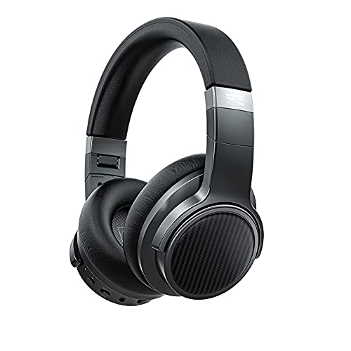 Auriculares Bluetooth 5.0 con Cancelación de Ruido FiiO EH3 NC Auriculares Inalámbricos con Gancho para La Oreja con Soporte para AptX LL/AptX HD/LDAC/Micrófono