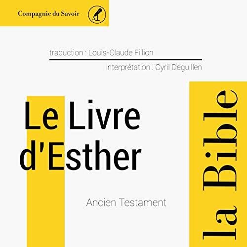 Couverture de Le livre d'Esther