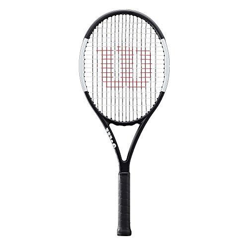 Wilson Tennisschläger, Pro Staff Team, Unisex, Ambitionierte Freizeitspieler, Griffstärke L3, Schwarz/Weiß, WR000610U3