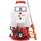 HAIGE エンジン噴霧器 動噴/動力噴霧器 背負式 20Lタンク 2サイクル エンジン式 HG-708