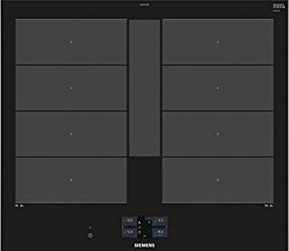 Siemens ex675jyw1e 集成区域感应爱好 黑色 炉灶 - 板(内置,区域感应炉灶,玻璃和陶瓷,黑色,3300 W,矩形)