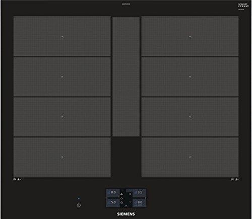 Siemens EX675JYW1E hobs Negro Integrado Con - Placa (Negro, Integrado, Con placa de...