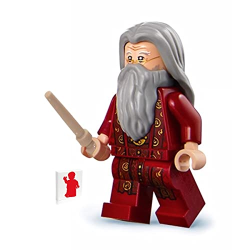 LEGO 2018 Harry Potter Minifigure - Albus Dumbledore (with Tan Wand) 75954