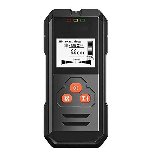 Adesign Stud Finder - 3 en 1 Localizador de Sensor de Sensor de Metal de Metal Electrónico Detector Detector de Scanner Wood Beam Forders Center con batería y pantalla LCD para madera CA CON CABA DE M