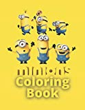 MINIONS COLORING BOOK: Amazing minions coloring book for kids (8.5x11)