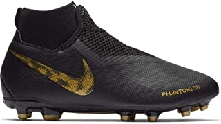 Nike Youth Phantom Vision Academy DF MG FG-Black/Gold (1)