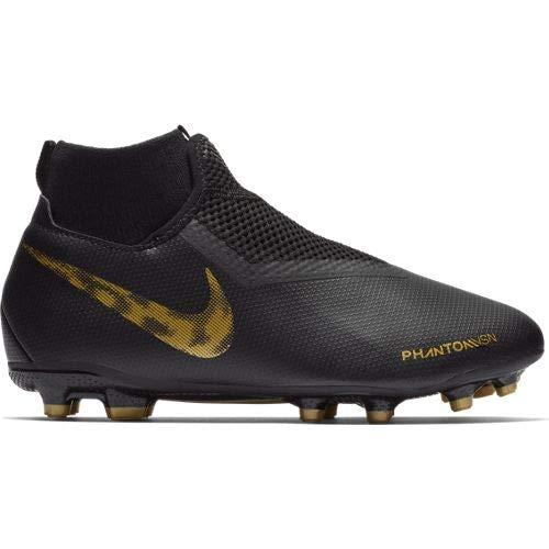 Nike Youth Phantom Vision Academy DF MG FG-Black/Gold