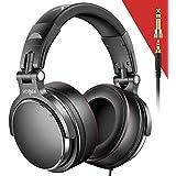 Vogek On Ear Headphones with Mic, Lightweight...
