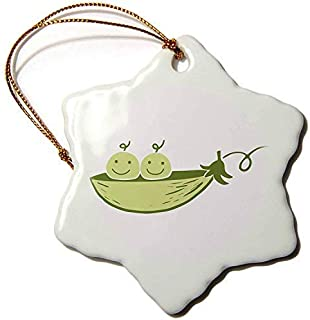 TIFA-LOVE Xander Inspirational Quotes Picture of Two Peas in A Pod On A White Background 3