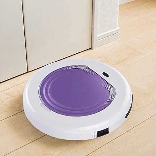 G-RF Aspirateur Robot TC-300 Intelligent Aspirateur ménage Balayage Robot Nettoyeur (Orange) (Color : Purple)