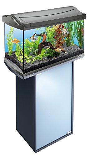 Tetra Aquarienunterschrank anthrazit für Tetra AquaArt Aquarien , 60 Liter (Discovery Line, mit Stauraum für Technik, Milchglasscheibentür und praktischem Führungsloch für Kabel und Schläuche) - 2