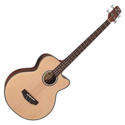 Electro Acoustic Bass Guitar by Gear4music