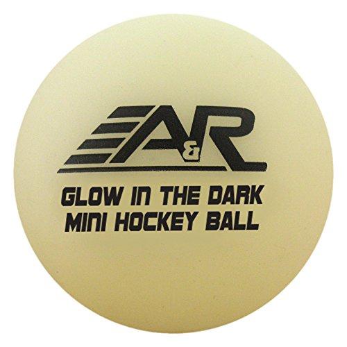 A & R Sports Mini-Bälle (4Stück), Glow in The Dark